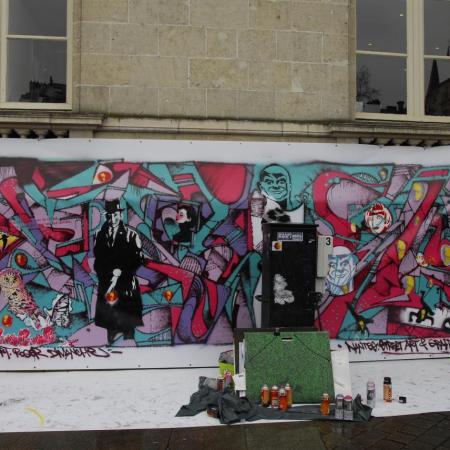 Nantes, avec Francis Persu et Roger Dimanche - avril 2013