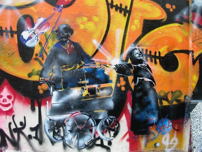 Les Musiciens de Rue (Belleville)