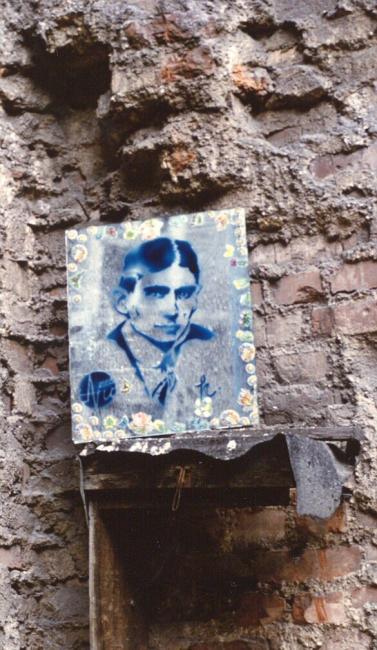 Kafka, ruines de leipzig